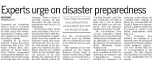 Kantipur News article