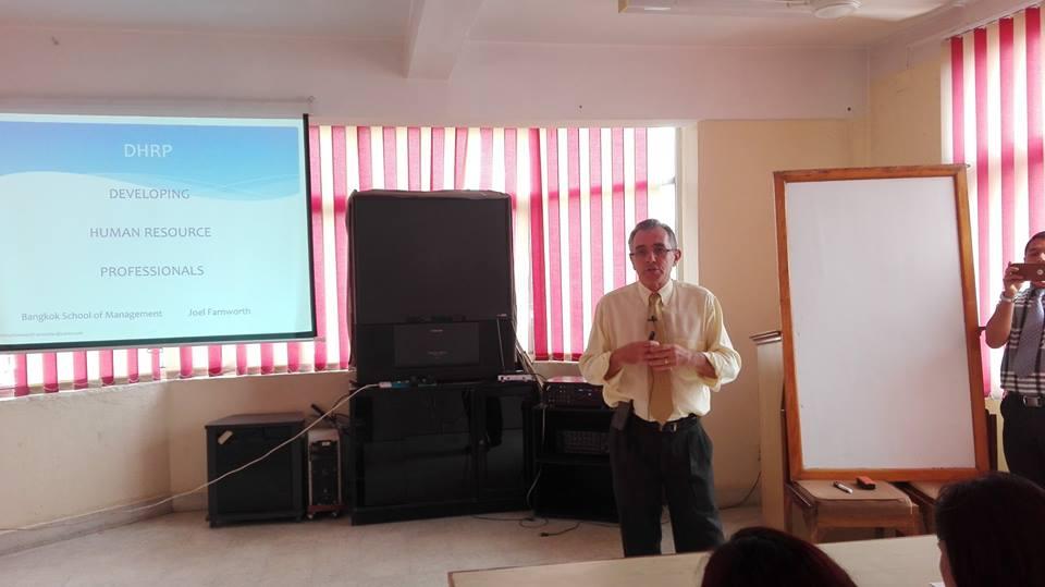 HR DEVELOPMENT WORKSHOP with Mr. Joel Farnworth